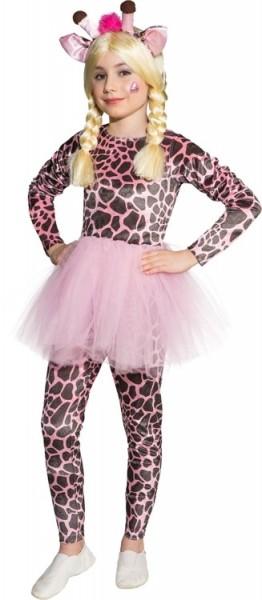 Giraffen Kostüm Mit Pinkem Rock