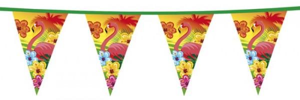 Guirnalda colorida de la bandera de Hawaii