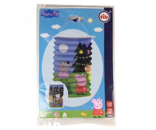 Lanterne de train ciel étoilé Peppa Pig 15 x 25 cm