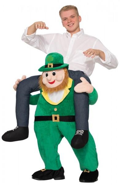 Leprechaun piggyback kostuum