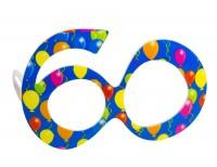 Partybrille 60.Geburtstag blau