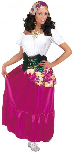 Wahrsagerin Esmeralda Kostüm