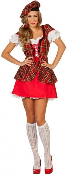 Traditioneel Schots dameskostuum