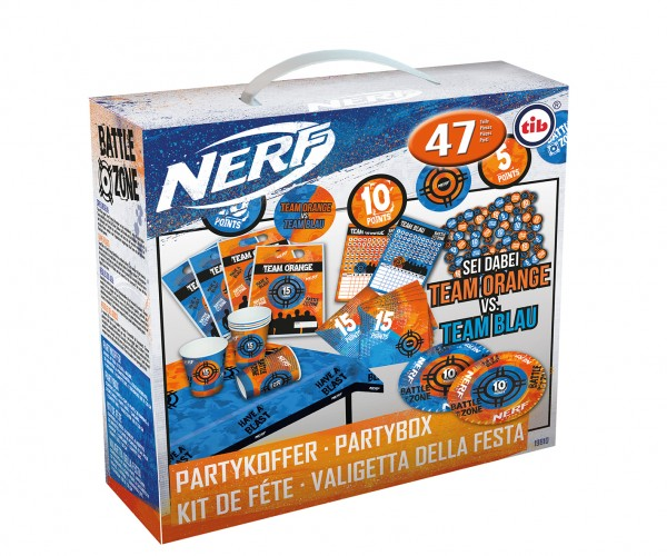 Nerf Battle Zone Partykoffer 47-teilig
