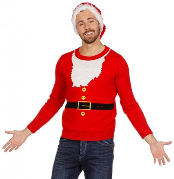 Christmas Santa sweater