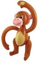 Aufblasbarer Affe Fluffy 58cm