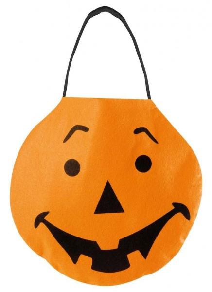 Halloween Tragetasche Kürbis Aus Filzstoff