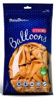 10 Partystar Luftballons orange 30cm