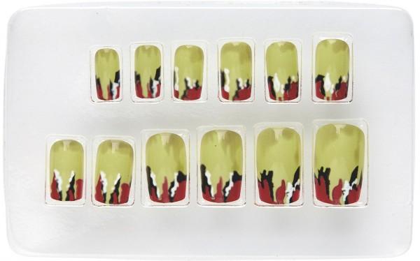 Schaurige Horror Fingernägel Für Damen