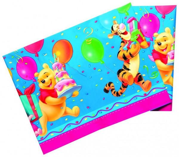 Birthday Winnie Puuh Tischdecke 1,8 x 1,2m
