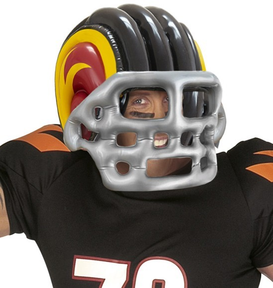 Football Star Helm Aufblasbar
