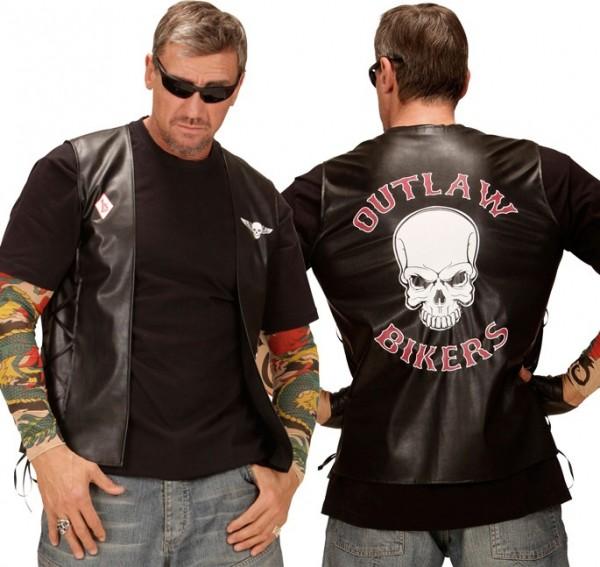 Robert Rocker Biker Vest