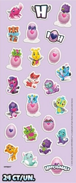 Hatchimals Stickerbogen