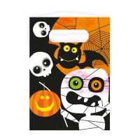 8 Monster Parade Halloween Geschenktüten