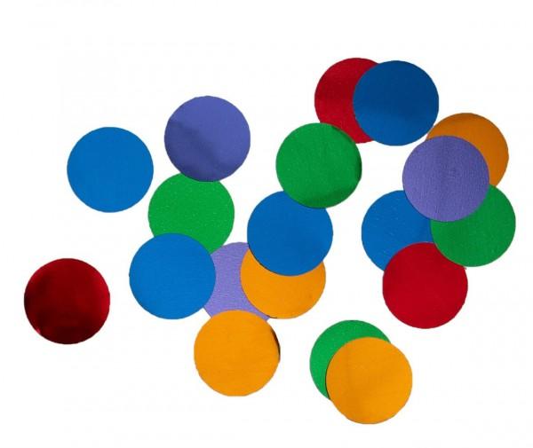 Farverig regnbue konfetti 15g