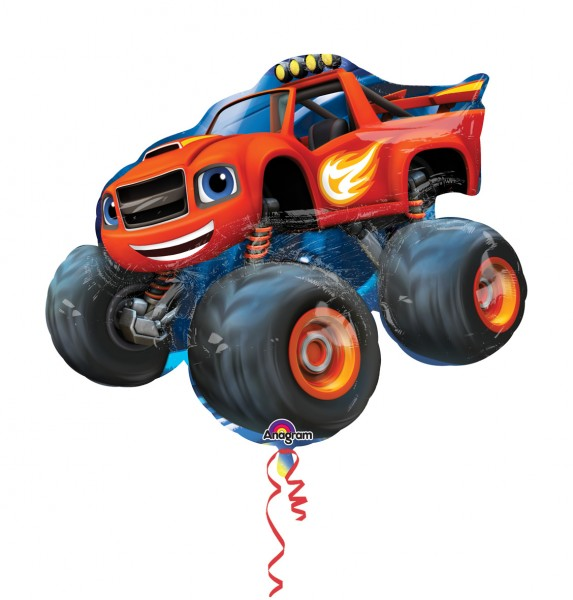 Folienballon Monster-Truck Blaze Figur