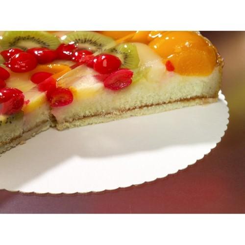 10 plateaux à gâteaux FSC Scarlatti d'environ 30cm