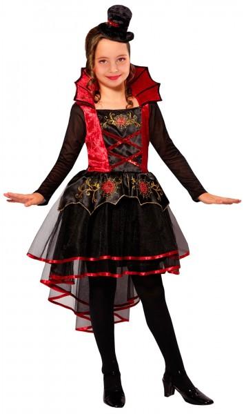 Déguisement fille vampire Lady Binia