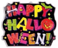 Fröhlich Leuchtende Halloween Wanddeko