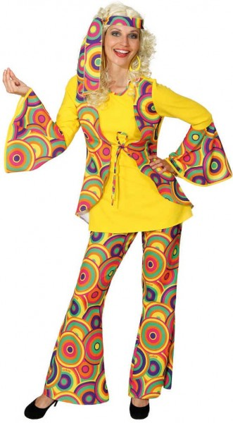 Abgedrehtes Georgia Hippie Kostüm 1