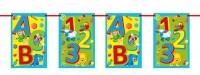 Schulstart ABC Wimpelkette 10m