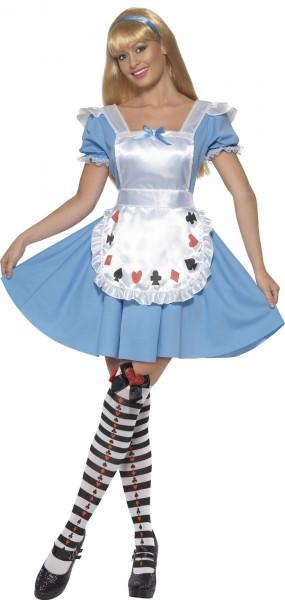 Alice im Wunderwald Damenkostüm