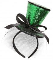 Green Diamond Zylinder Haarschmuck