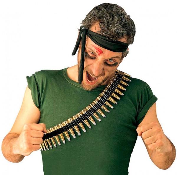 Soldaten Patronen-Schultergürtel