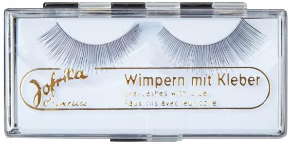 Premium Echthaar Wimpern Mit Wimpernkleber