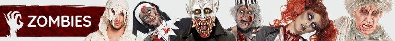 Zombie Kostüme & Zubehör