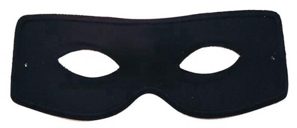 Schwarze Gangster Augenmaske