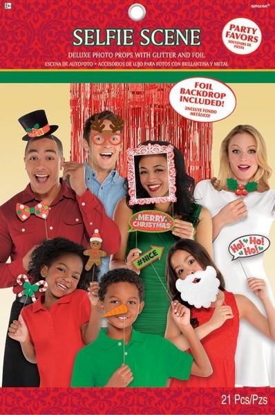 Caja de fotos Christmas Time set 21 piezas