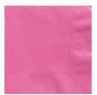 50 Servietten Mila rosa 33cm