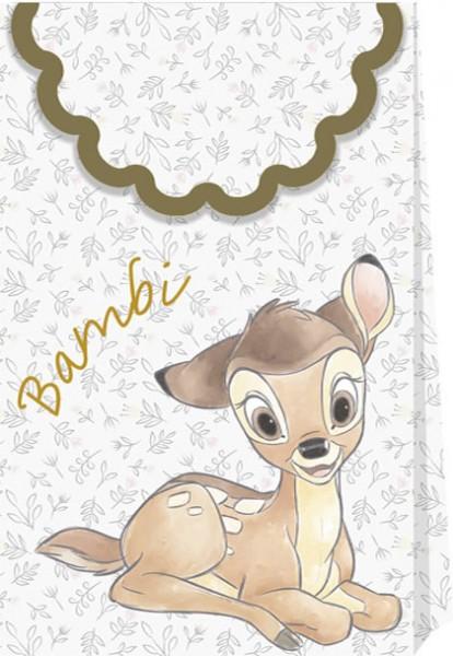 6 Bambis Welt Geschenktüten