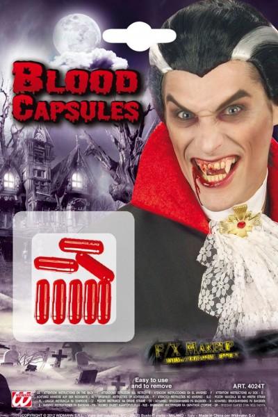 Halloween Horror Kunstblut Kapseln 8-Teilig