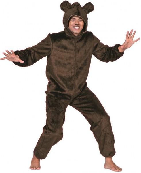 Bären Kostüm Aus Plüsch Für Herren