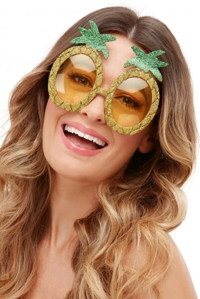 Funkelnde Ananas Brille