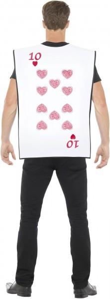 Pik-Herz Spielkarten Kostüm
