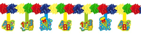 School start ABC garland 4m
