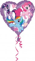Herzballon My Little Pony 45cm