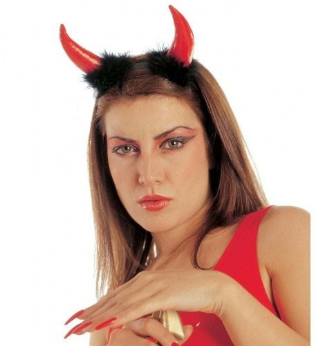 Teufelshörner Haarreif