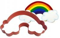 Regenbogen Plätzchen Ausstechform