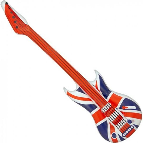 Aufblasbare Union Jack Gitarre