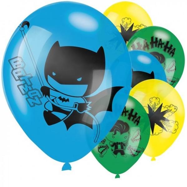 8 Batman und Joker Comic Ballons