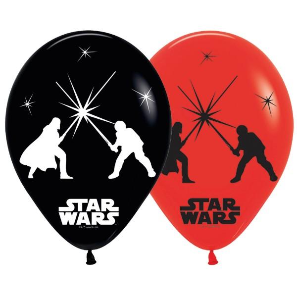 5 LED Star Wars Ballons 28cm