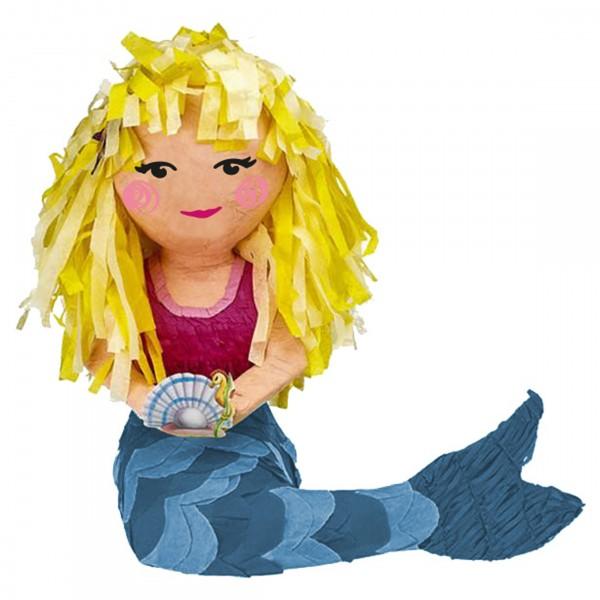 Blonde Meerjungfrau Pinata