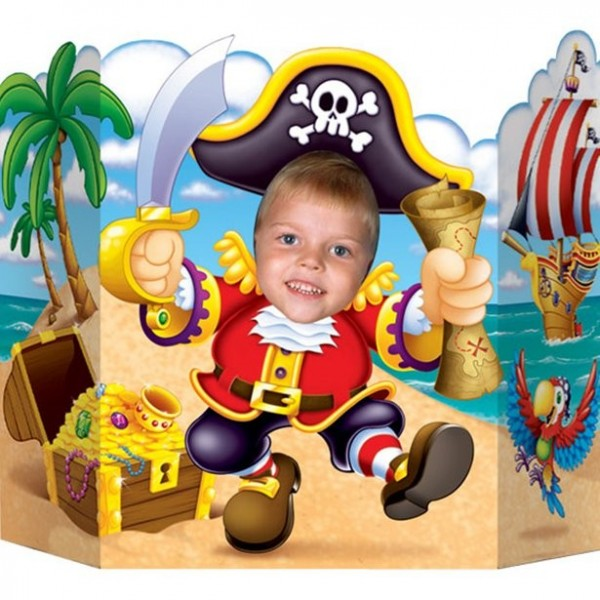 Fotomural Capitán Tiburón Pirata 64cm