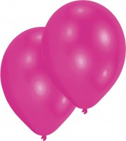 10er-Set Luftballon Magenta 27,5