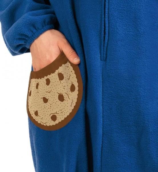 Cookie Monster Kostüm für Erwachsene