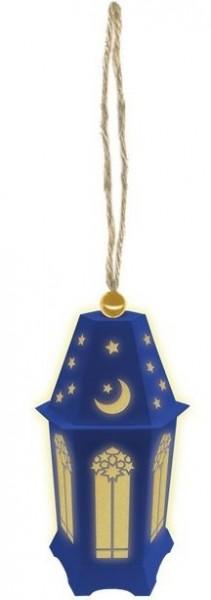 Eid Mubarak LED lantern 7 x 13cm